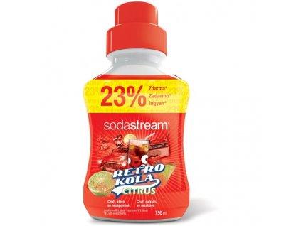 Příchuť pro perl. vodu SodaStream Retro Kola Citrus 750ml