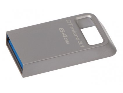 Flash USB Kingston DataTraveler Micro 3.1 64GB USB 3.1 - kovový