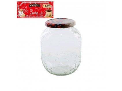 Zavařovací sklenice s víčkem C2, 0,72 l