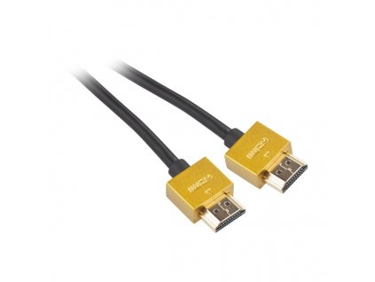 Kabel GoGEN HDMI 1.4, 3m, pozlacený, High speed, s ethernetem