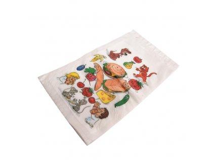 Plastové sáčky na svačinu 16 x 24 cm, 30 ks