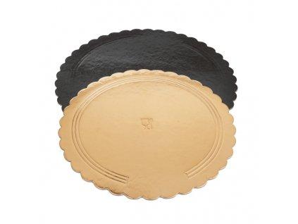 Kulatá lepenková podložka pod dort, průměr 30 cm