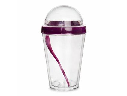 Plastový pohár na jogurt 0,11 l