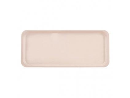 Plastový obdélníkový tác, 37,5 x 15,5 cm