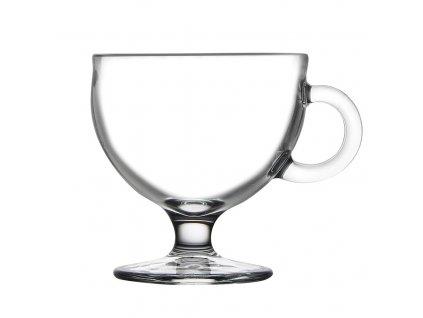 Skleněný pohár zmrzlinka, průměr 9 cm