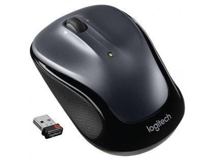 Myš Logitech Wireless Mouse M325 / optická / 3 tlačítka / 1000dpi - šedá