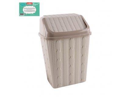 Odpadkový koš Jumper, 10 l, plastový