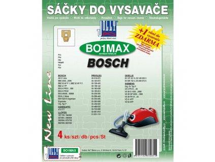 Sáčky do vysavače Jolly MAX BO 1 Bosch (4 ks)