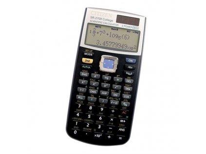 Kalkulačka Citizen SR-270X College - černá