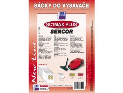 Sáčky do vysavače Jolly SC1 MAX PLUS