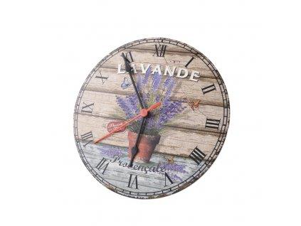 Nástěnné hodiny Retro, průměr 24,5 cm
