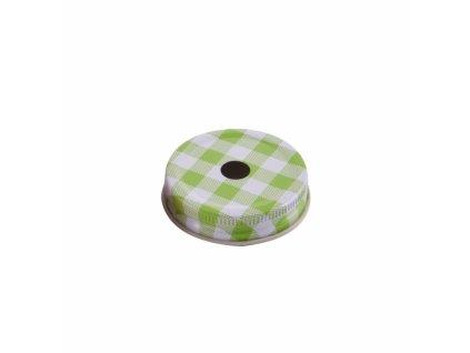 Náhradní kovové víčko pro sklenici Straw 125617, průměr 5 cm