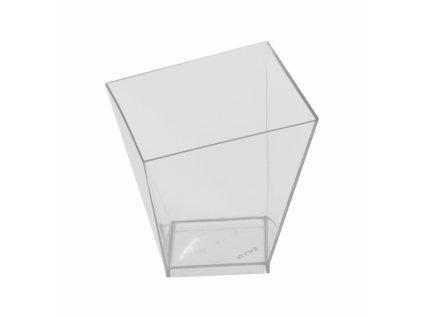 Plastový pohárek Panna Cotta 0,12 l, 6 ks