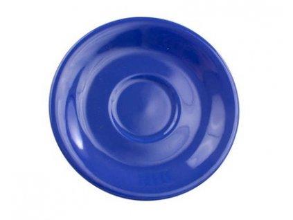 BANQUET Podšálek keramický 15,5 cm, modrý