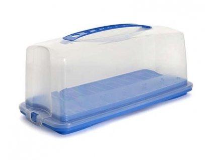 BANQUET Podnos plastový s poklopem 35,9 x 16,5 x 14,7 cm