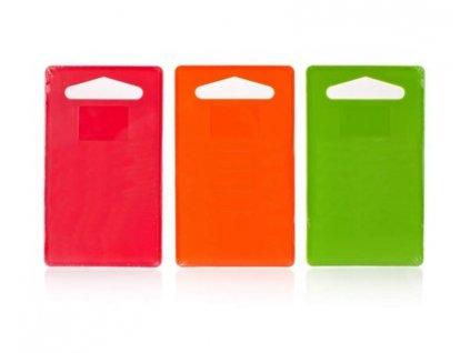 BANQUET Prkénko krájecí plastové CULINARIA Plastia Colore 28,5 x 18,7 cm