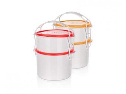 BANQUET Jídlonosič plastový APETIT, 2 díly