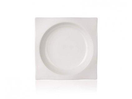 BANQUET Talíř porcelánový hluboký LA PLAZA 21 cm