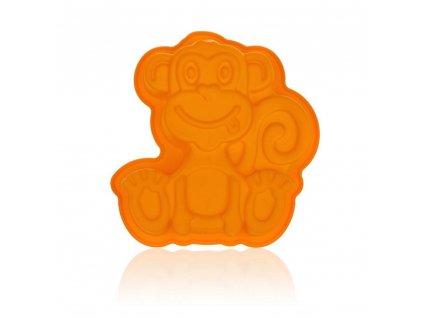 Silikonová forma opička Banquet, 19,5 x 19,5 x 5 cm