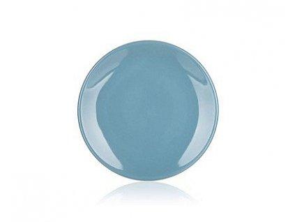 BANQUET Talíř keramický dezertní AMANDE 20 cm, modrošedý lesk