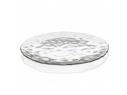 Skleněný talíř Bormioli Diamond, 33 cm