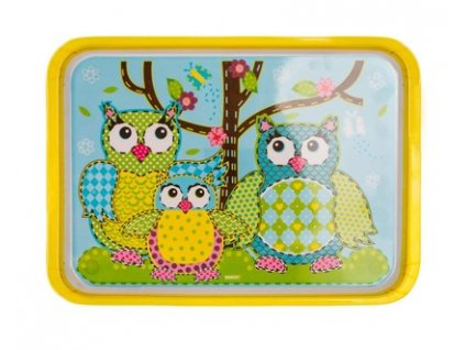 BANQUET Tác melaminový OWLS 30 x 21,5 cm