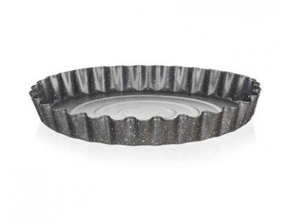 BANQUET Forma vlnitá na koláč s nepřilnavým povrchem GRANITE 28,5 x 3,5 cm