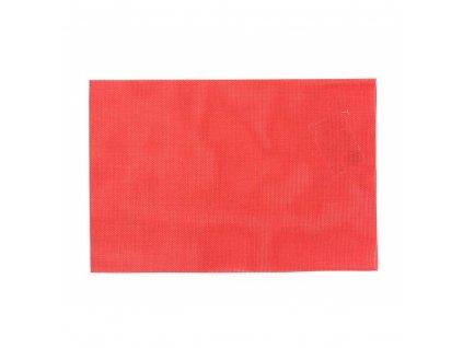 BANQUET Prostírání PIATTO 45 x 30 cm, 2 x 2 vlákna, červené