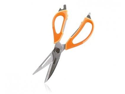 BANQUET Nůžky kuchyňské univerzální rozložitelné CULINARIA 22,5cm, oranžové