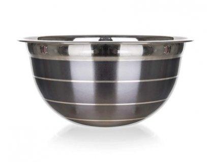 BANQUET Mísa nerezová AVANZA, 21 cm, šedá
