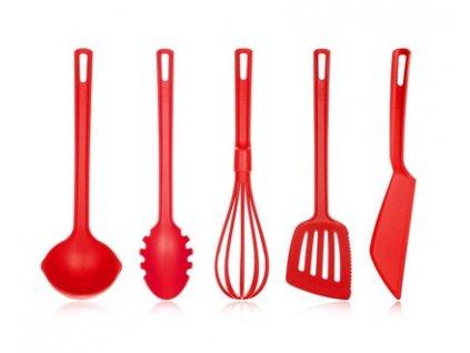 Sada kuchyňského náčiní Banquet Culinaria Red, 5 ks