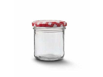 Zavařovací sklenice s víčkem 0,165 l
