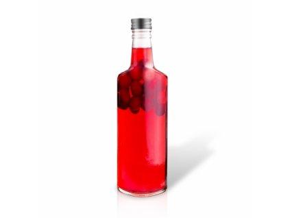 Skleněná láhev s kovovým uzávěrem Spirit, 1 l
