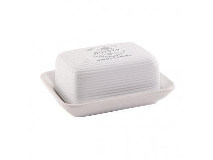 Porcelánová máslenka Sweet Home, 17,5 x 13,5 cm