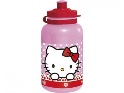 Láhev plastová sportovní HELLO KITTY 400 ml
