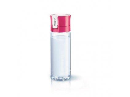 Filtrační láhev Brita Fill & Go Vital 0,6 l, růžová barva