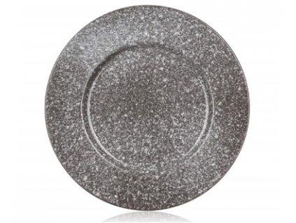 Keramický talíř mělký Granite, 27 cm