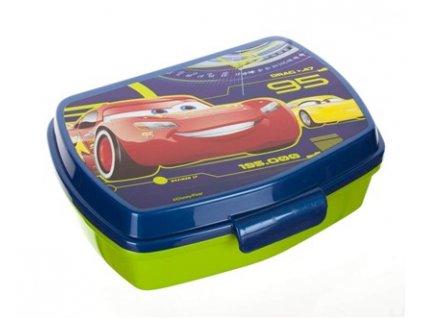 Svačinový box pro děti Banquet Auta 3, 17 x 12 cm