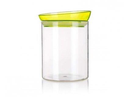 BANQUET Dóza skleněná ERA 800 ml, s plastovým víčkem