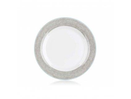 BANQUET Talíř porcelánový mělký SHADOW 24 cm