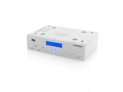 Kuchyňské rádio Hyundai KR 815 PLL U, digitální FM tuner, USB