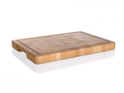 BANQUET Prkénko krájecí dřevěné BRILLANTE Bamboo 35 x 25 x 3 cm, mozaika