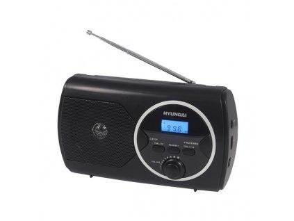 Radiopřijímač Hyundai PR 570PLLUB, FM PLL, USB, černý