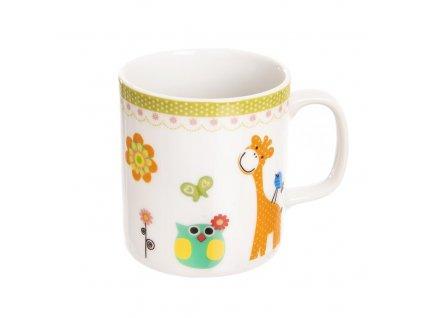 Porcelánový hrnek pro děti Žirafa 0,225 l