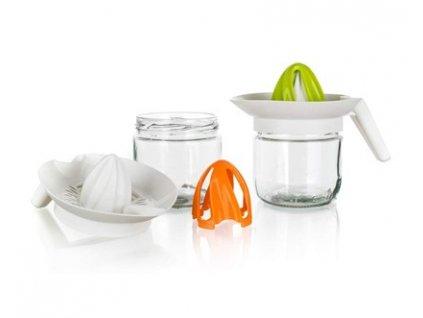 BANQUET Odšťavňovač na citrusy TWISTER 420 ml, mix barev