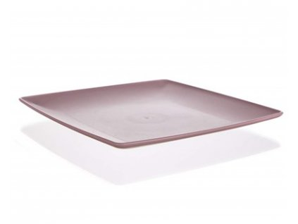 Plastový tác servírovací Banquet Culinaria 23,5x23,5x2cm růžový
