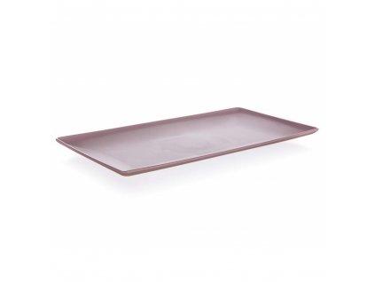 BANQUET Tác servírovací CULINARIA 33 x 18 x 2 cm, růžový
