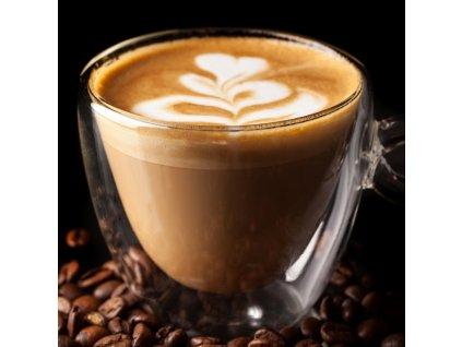 Skleněný hrnek na kávu dvoustěnný, 0,18 l
