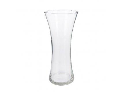 Skleněná váza, 11 x 26 cm