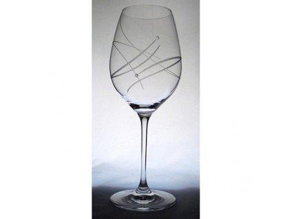 Sklenice na víno Swarovski Celebration 470 ml, 2 ks